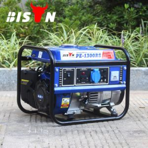 비손 (중국) BS1800A 1kw 작은 MOQ 둥근 프레임 가솔린 발전기