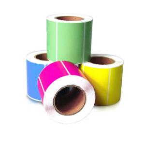 Полноцветный Самоклеющиеся Термочувствительных рулон пустой пакет логистики наклейка этикетки