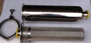304 O alojamento do filtro do tubo de aço inoxidável para a indústria de tratamento de água
