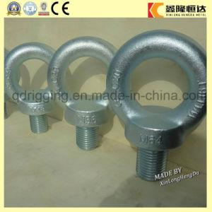 Caída de acero al carbono forjado Cáncamo de elevación galvanizado DIN580 M64