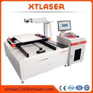 Mini lista de precios portable de la impresora laser 30W de la máquina 50W de la marca del laser de la fibra para la marca del metal y el corte de la joyería