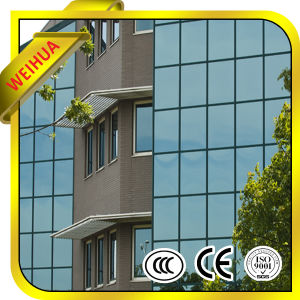 Fabrico de fábrica temperados coloridos de baixa e painéis de vidro laminado /Vidraças isolados