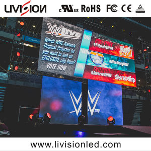 Location de l'événement à l'intérieur du panneau d'écran vidéo LED P3.9/4.8 LED pour la publicité d'affichage vidéo