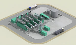 1000kw Térmicos generador de gas y energía Cchp Power Plant