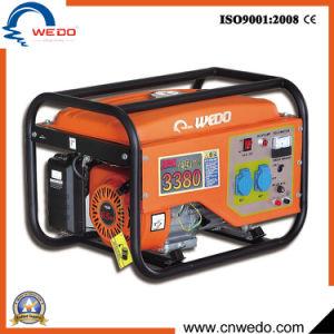 Wd3380 2kVA/2kw/2.5Kw/2.8Kw portátil de 4 tempos a gasolina/Geradores de gasolina com marcação (168F)
