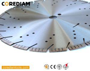 400mm soldada a laser escova Turbo Concreto/Diamante a lâmina da serra