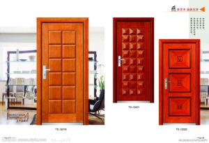 Portello esterno dell'interiore dell'entrata di legno solido per classico