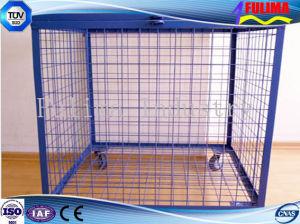 Cesta de almacenamiento/caja o jaula para bolas o extintor de incendios (SSW-F-005).
