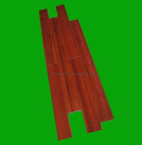 Le sol en bambou colorées (Cherry) 980*98*10mm
