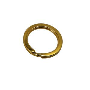 Giunto circolare su ordinazione del metallo che fonde sotto pressione gli anelli portachiavi in lega di zinco del metallo