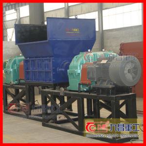 슈레더 기계는 타이어를 또는 플라스틱 또는 유리 제공했다