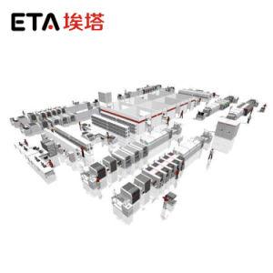Schlüsselfertiger Produktionszweig Schaltkarte-SMT für Telekommunikationsendgeräte mit Cer