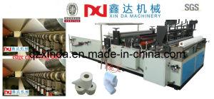 Bord Automatique de Roulis de Papier de Toilette et Pleine Machine Gravante en Refief