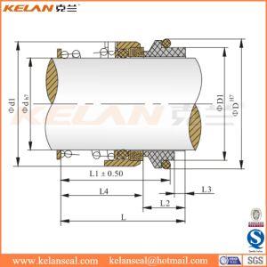Guarnizione meccanica dell'asta cilindrica della pompa ad acqua di serie di Burgmann M37g dell'aquila (KLM37G)