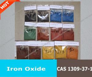 Oxyde de fer le Pigment Fe2O3 pour les briques, blocs, ciment, de pavage