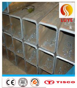 SUS 321 Naadloze Buis van de Pijp van het Roestvrij staal de Vierkante