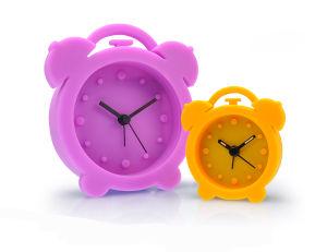 En silicone étanche incassable kid 's Tableau Horloge à quartz d'alarme