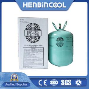 La refrigeración de gas de refrigeración de piezas de gas refrigerante R134A.