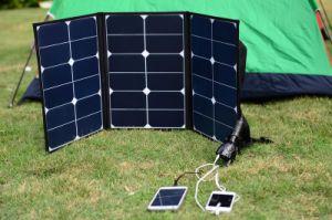 comitato solare di piegatura esterna di 70W Sunpower per accamparsi