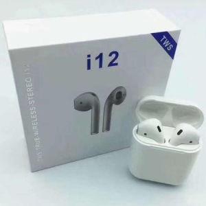 Vendas quente I12 Tws fones inteligentes 5.0 Fones de ouvido Bluetooth