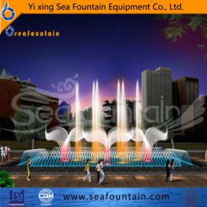 Piscine en plein air combinaison type de musique de décoration de jardin Fontaine