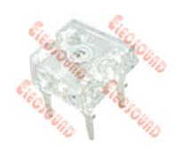 El LED (5mm Super Flux Plomo RoHS LED).