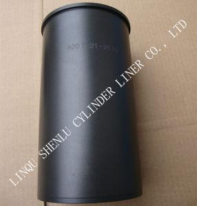 Fodera del cilindro dei pezzi di ricambio usata per KOMATSU giapponese 6D95