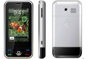 Tela de Toque duplo SIM um telefone móvel380I