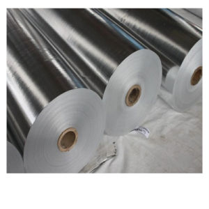 Термально Woven Fabric Coated Foil для Packaging и Insulation Material