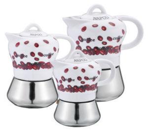 美しいデザインモカ鍋のコーヒーメーカー