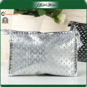 Silver White en PVC de promotion de la mode sac à main cosmétique