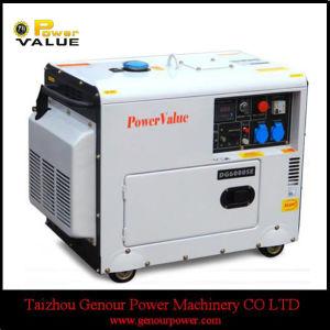 5 КВА бесшумный дизельный генератор цена 5 Квт дизельный генератор (ZH6500ГД)
