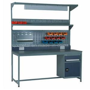 Taller industrial metal mesa de trabajo del banco de trabajo taller industrial metal mesa de - Mesas de taller ...
