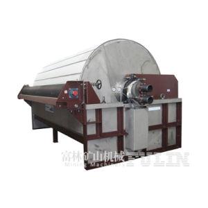 Filtro a depressione rotativo cilindrico di Gw per il processo di estrazione mineraria