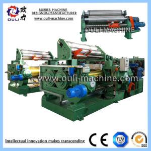 Vollautomatische zwei Rollenmischendes Tausendstel-Maschine verwendet für Mischer-Gummi-Blatt