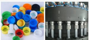 完全なパフォーマンス機械を作るプラスチックびんのプレフォームおよび帽子