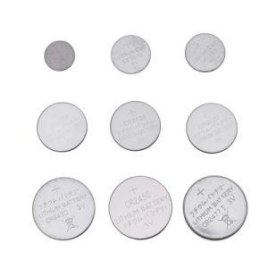 OEM 3V Cr2477 de Batterij van de Cel van de Knoop van het Lithium Cr2430 Cr2450 met de Lusjes van het Soldeersel