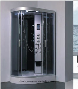 A la izquierda ducha de vapor, cabina de ducha de vapor de ancho de 1200