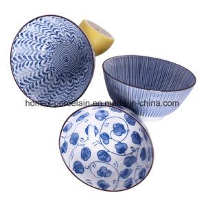 Haute qualité Under-Glazed différents bols d'estampillage pour le ménage