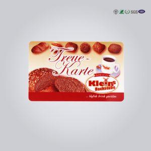 Пластиковый прозрачный бизнес VIP Card с горячей штамповки