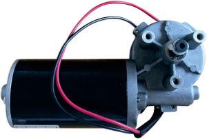 180rpm 12-24V DC Motor eléctrico de engranaje helicoidal para silla de ruedas/vehículo eléctrico/Compras/carro de golf