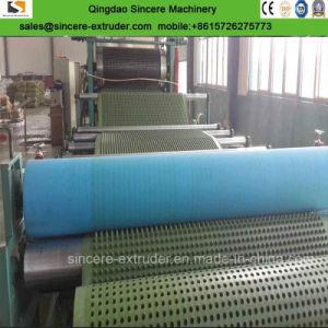 Conseil de drainage Composite HDPE PE extrusion laminage des machines avec géotextile