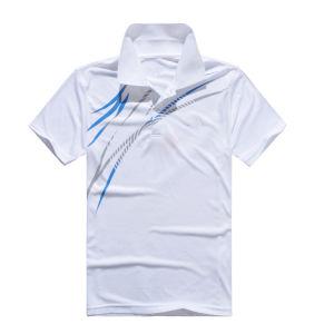 OEM 건조한 적합 승진 운동복 승화 인쇄 남자의 폴로 셔츠