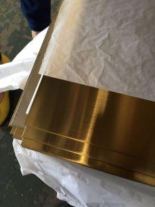 Hoja de acero inoxidable laminado en frío de Color (304 hojas)