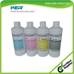 Un fuerte adhesivo blanco de tinta para impresora DTG