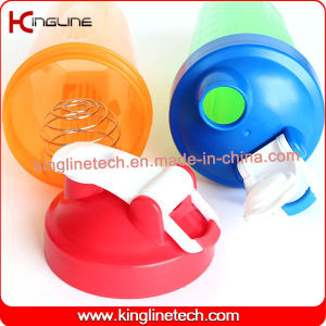 600ml botella de agua con agitador BOLA y manejar(KL-7010D)