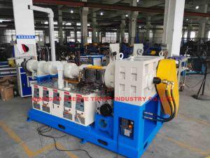 China Extrusor de borracha de silicone de alta qualidade/linha de extrusão de borracha de silicone (CE/SGS/ISO9001)