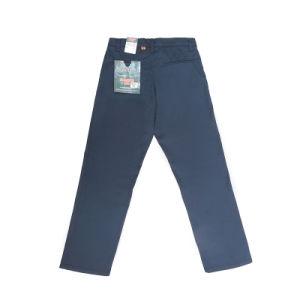Trabalhador forte regular Blue Sky Ripado Jeans Denim