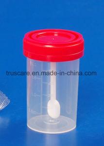 Стерилизованные чашки мочи мочи в контейнер с маркировкой CE и ISO утвержденных