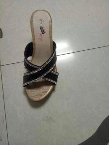 Les femmes sandales, High-Heeled sandales, Mesdames/Femmes Pantoufles, cuir synthétique de pantoufles.